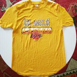 Vintage Los Angeles Lakers Champion tshirt